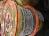Terrine gourmande aux morceaux de foie gras au safran
