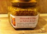 Moutarde à l'ancienne au safran