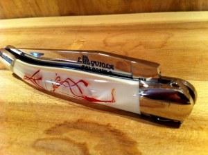 Couteau Laguiole Le Safranier