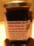 Gelée de baies de sureau au safran